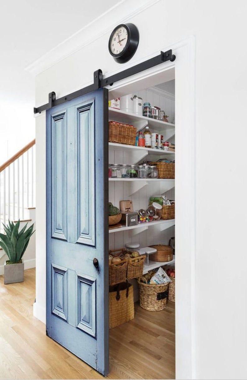 Four Panels Vintage Door, Barn Doors, Front Door, interior exterior Custom Size Double or Single Old Look Wooden Doors, Sliding or Hinged