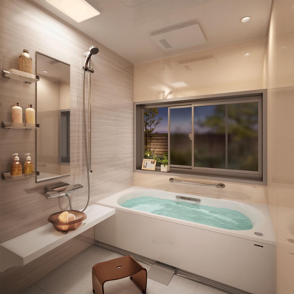 ユニットバス システムバス 浴室 浴槽 シャワーユニット