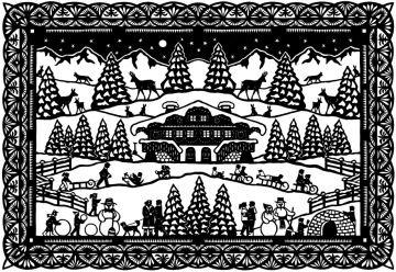 Schweizer scherenschnitte scherenscnitte paper cutting for Scherenschnitt weihnachten