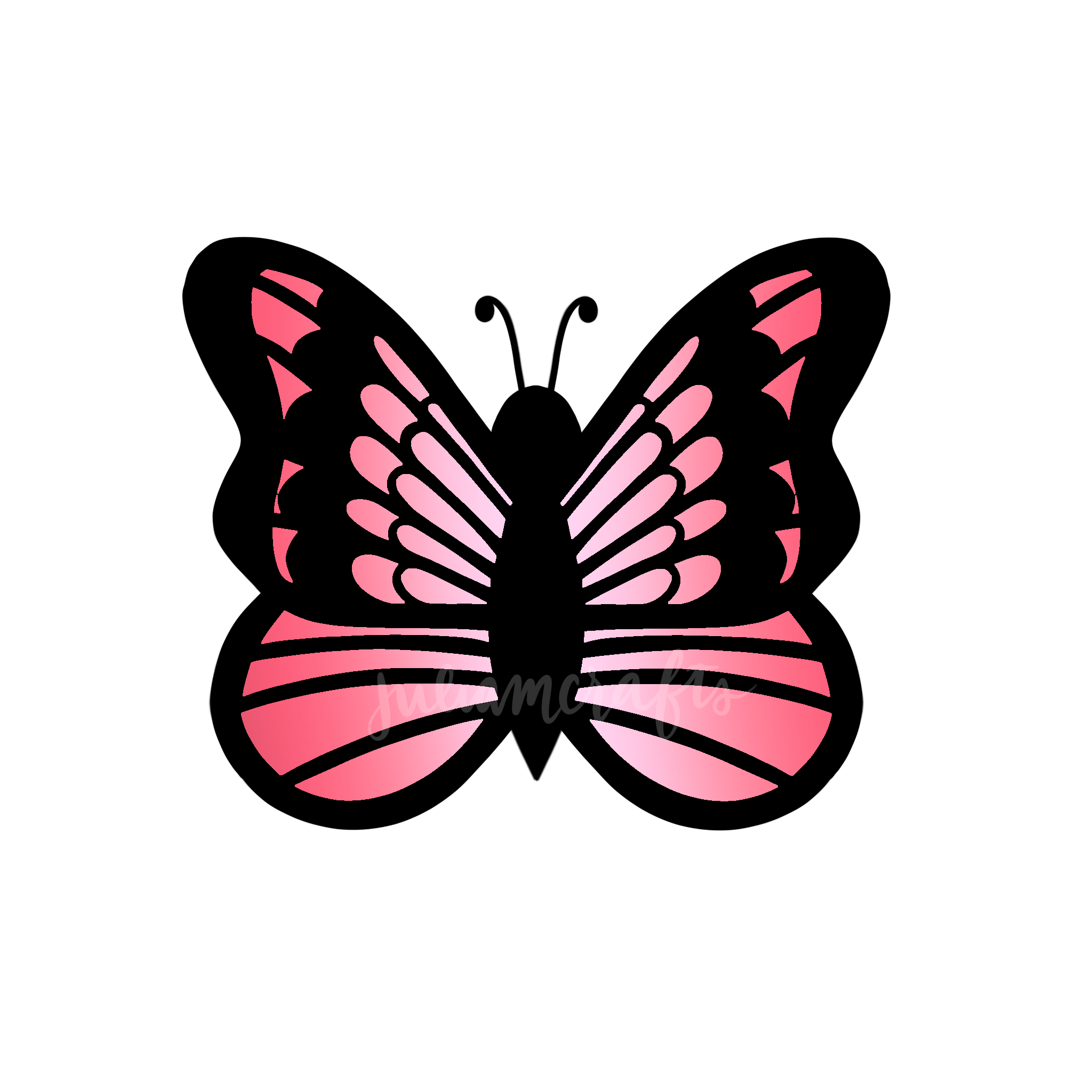 Pink Butterfly Design Green Butterfly Pink Butterfly Butterfly Design