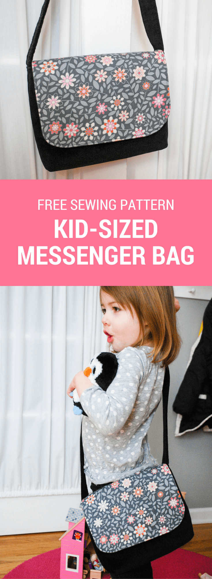 Messenger Bag Free Pattern and Sewing Tutorial Free sewing pattern for a kid-sized messenger bag. It's an easy DIY sewing project for beginners and makes a great DIY gift for kids!Easy Come Easy Go  Easy Come, Easy Go may refer to:
