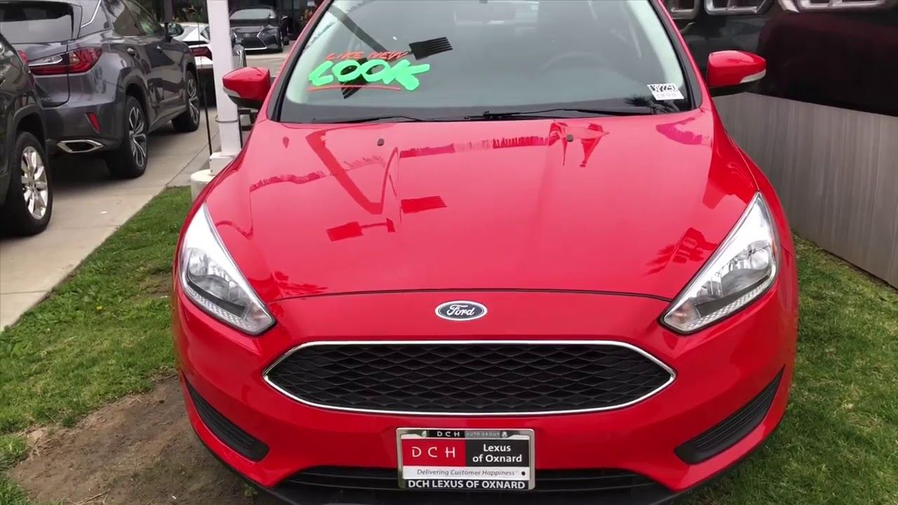 DEAL OF THE DAY 2017 Ford Focus High Predicted Reliability
