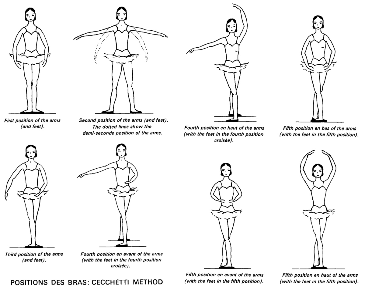 Positions Of The Feet And Arms Cecchetti Method