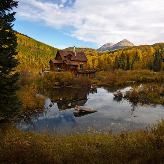 Here In Remote Southwestern Colorado Along The Banks Of