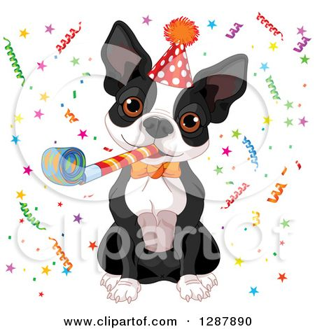 Pin By Mary Trapp On I Love Boston Terriers Happy Birthday Funny Dog Boston Terrier Funny Boston Terrier Puppy