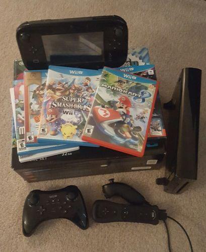 Nintendo Wii U (Latest Model)- Deluxe 32GB Black Handheld System https://t.co/F8KF2L2J4E https://t.co/BDMkbOn94P