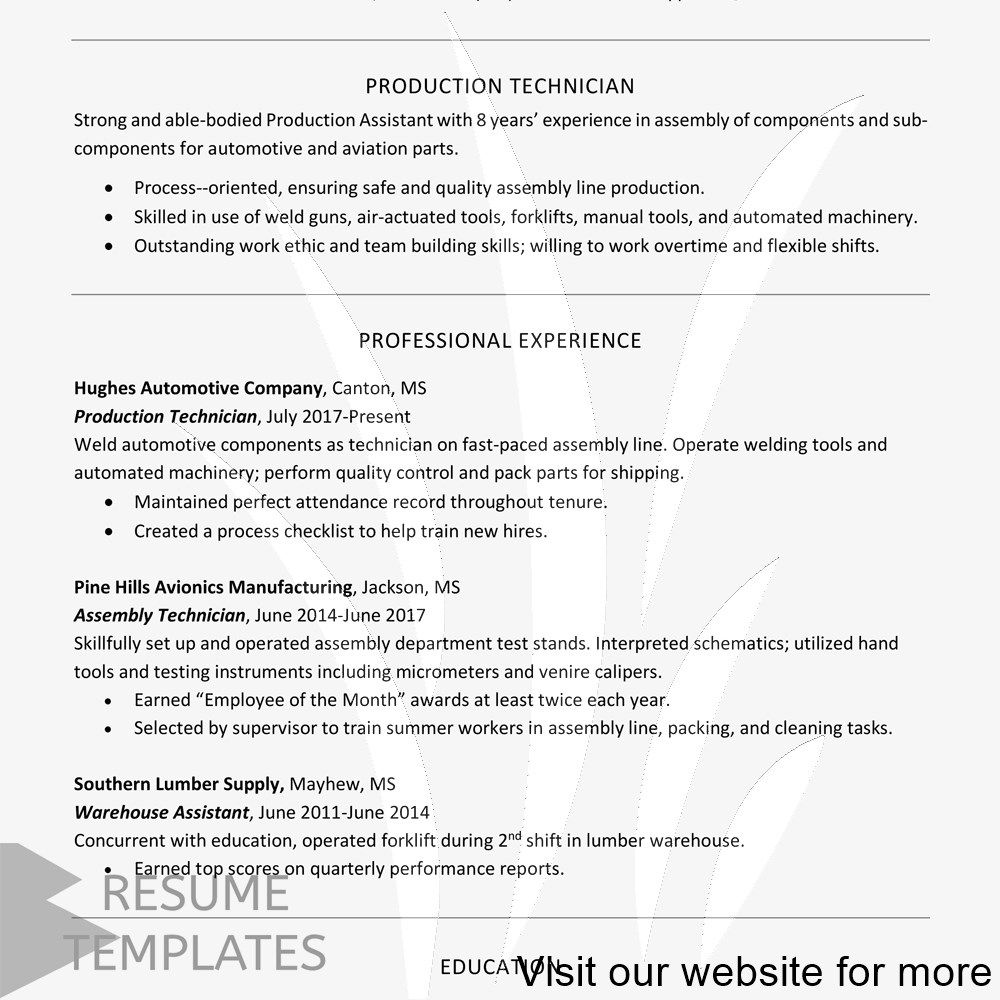 resume template copy and paste Professional in 2020 (With