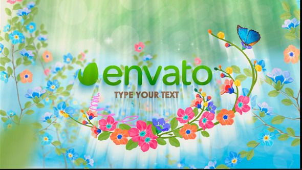 Spring Logo  • After Effects Template • Download here : http://videohive.net/item/spring-logo/10469353?ref=pxcr