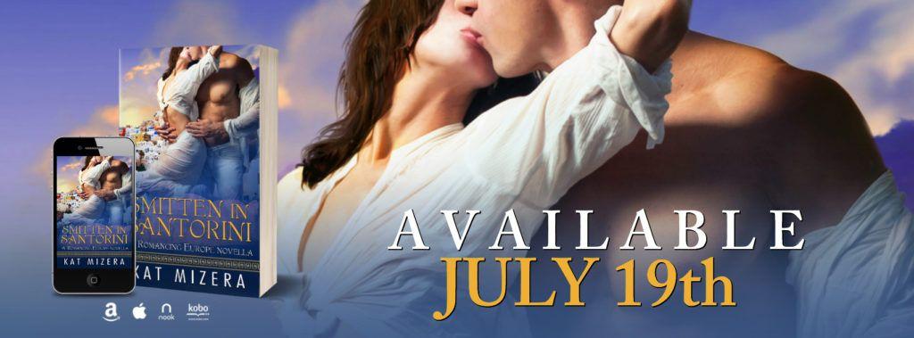 I Love Romance Cover Reveal Smitten In Santorini Romancing Euro