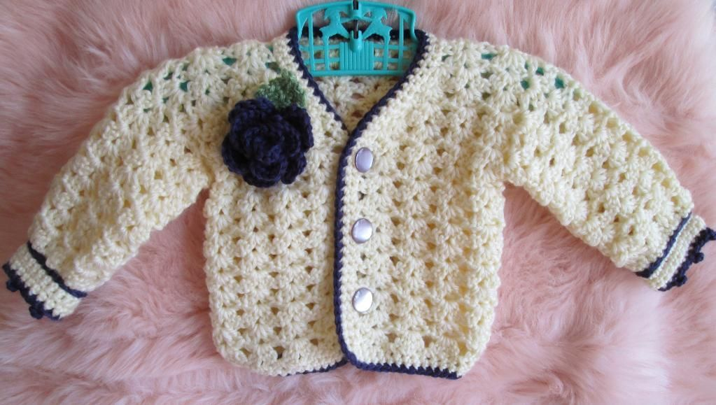 Easy Baby Sweater Crochet Pattern | Baby jumpers, Crochet and Patterns