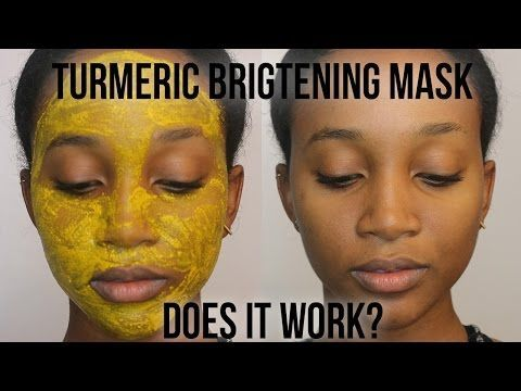 D.I.Y Turmeric Face Brightening Mask- Too cute! But you ...
