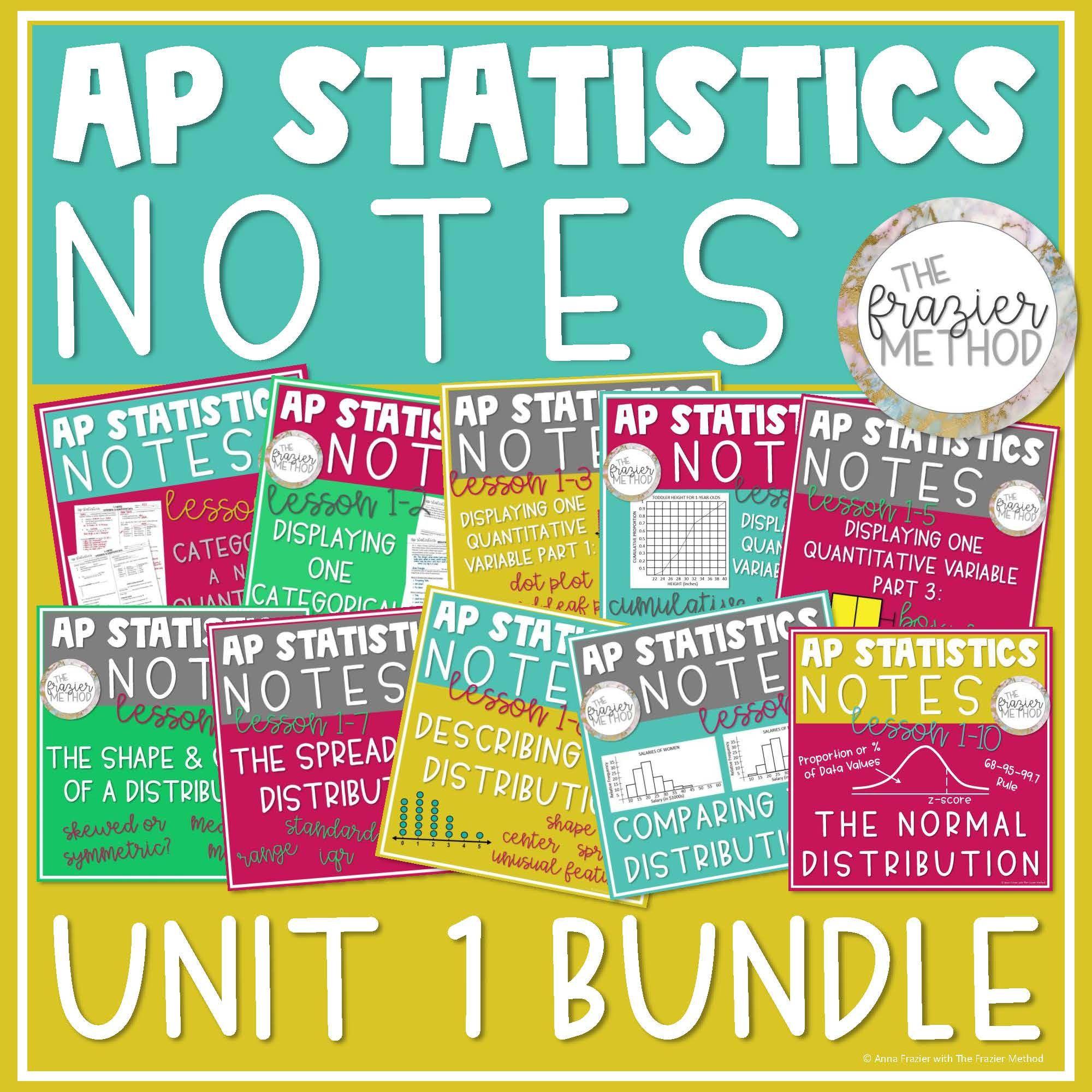 Ap Statistics Notes