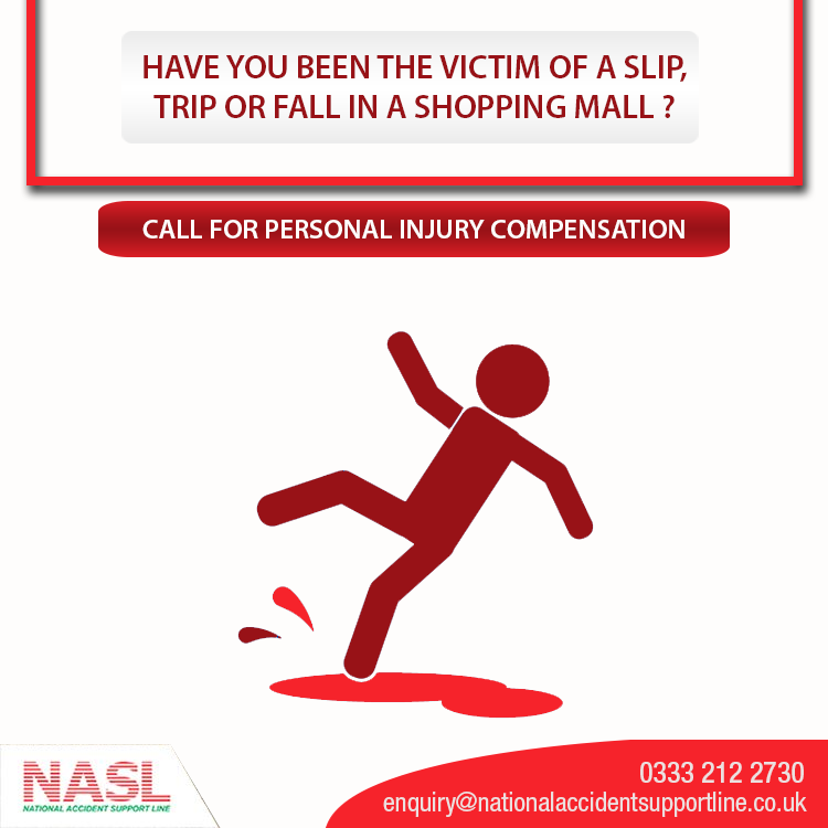 If You Have Been Injured In A Slip Trip And Fall Contact Nasl Our Expert Solicitors Are Available To Offer Advice Workplace Accident Trip Compensation Claim