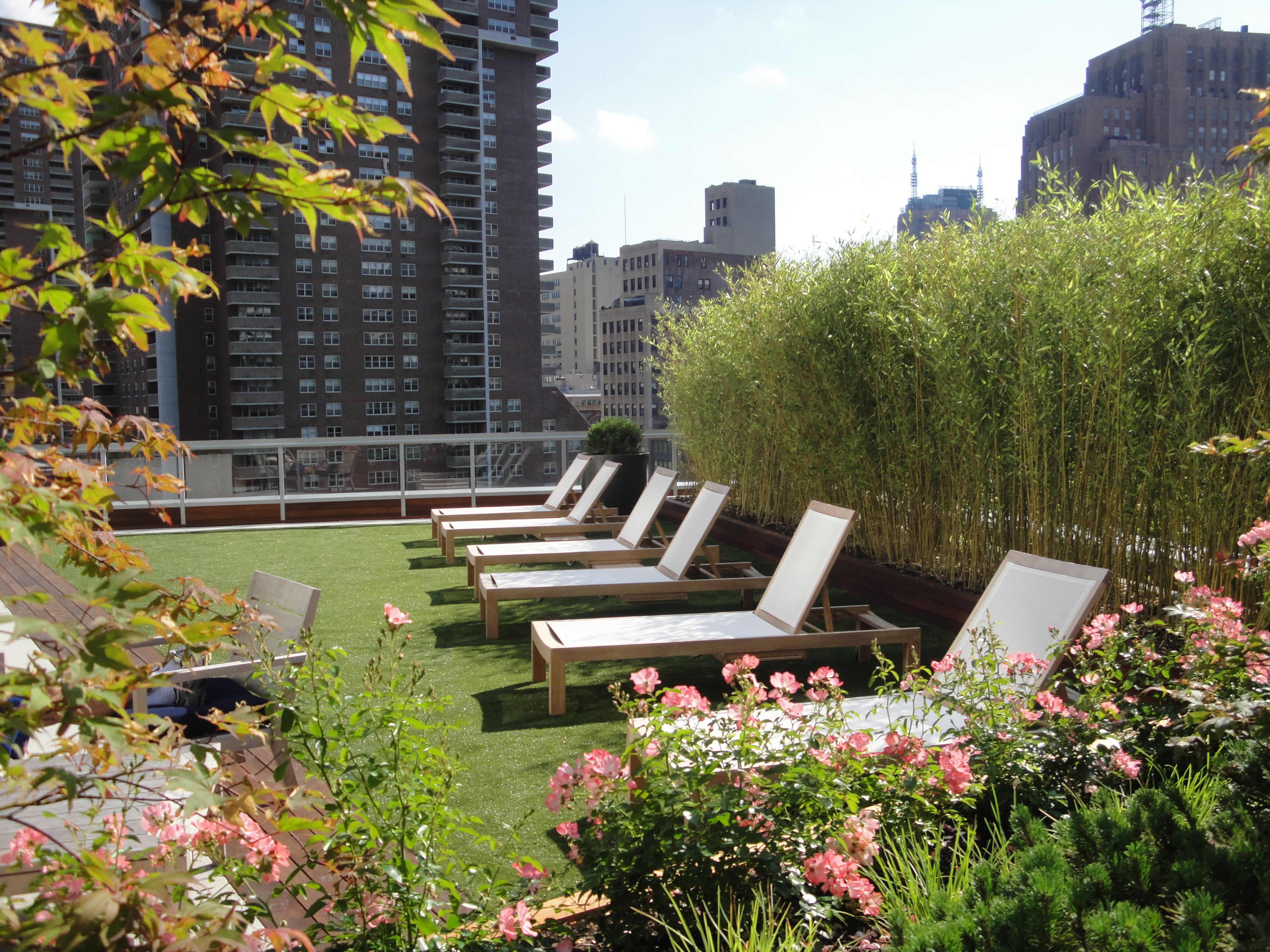 Chambers Street Condo Apartments Nyc Rooftop Patio With