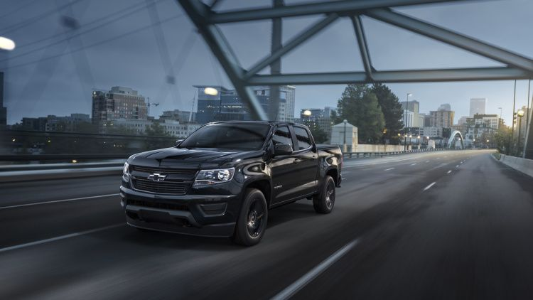 Chevy Colorado Gets Midnight Trail Boss Editions Chevy Colorado