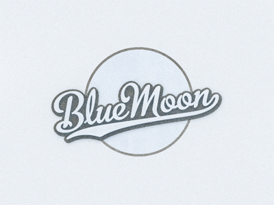 Blue Moon Moon Logo Blue Moon Logo Design