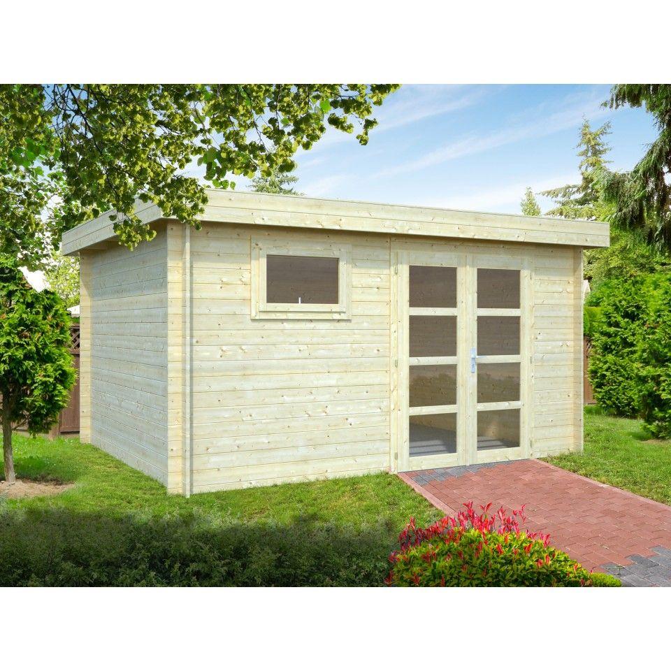 Palmako Gartenhaus Elsa 11,3 m² 28 mm Gartengebäude