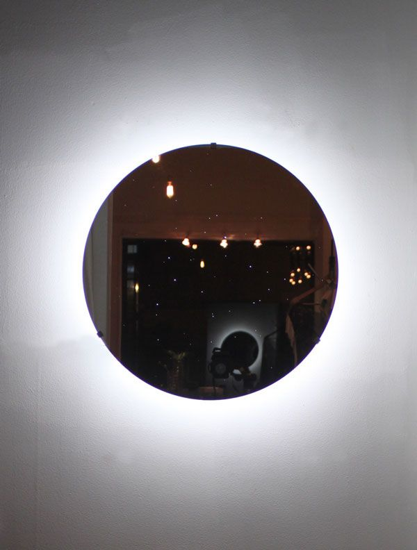 Seldon Yuan Center Of The Universe Mirror Sconce 2011