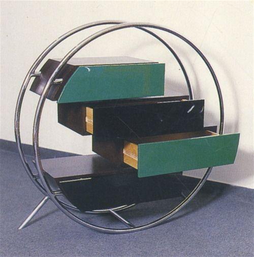 Cabinet by Pierre Cardin.