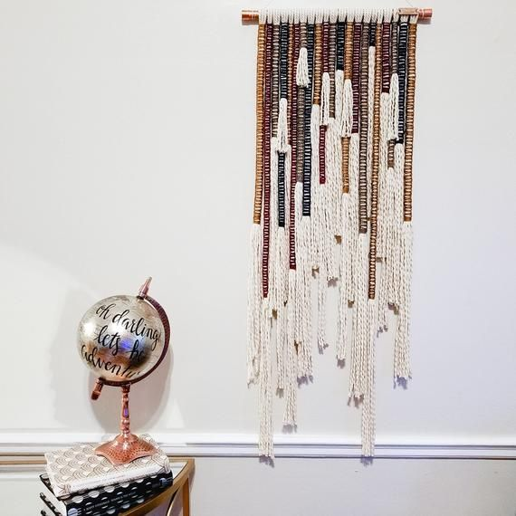 Macrame Wall Hanging Large Fall Wall Hanging Tapestry