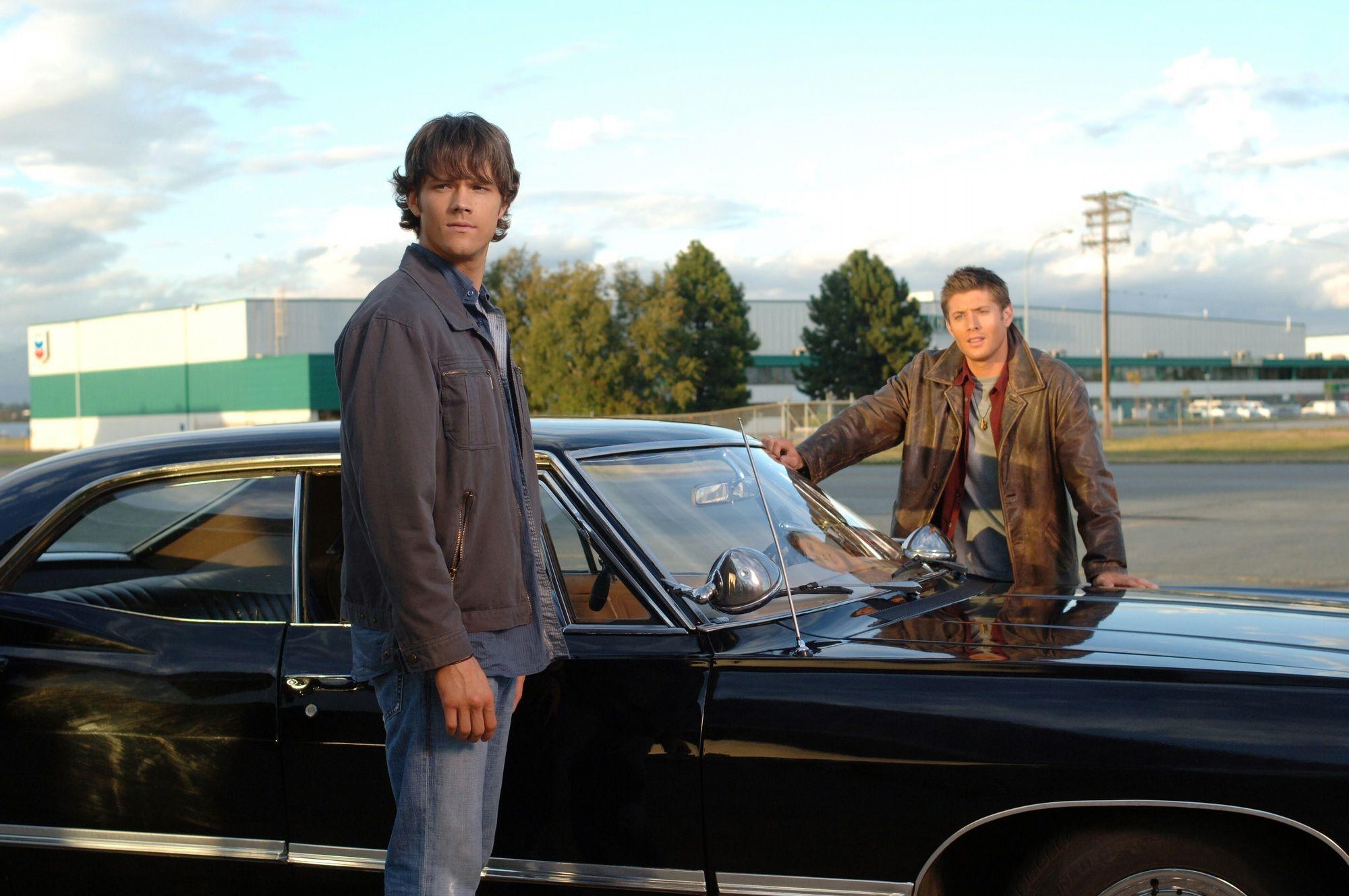 supernatural season 1 | jared padalecki and jensen ackles Supernatural season 1