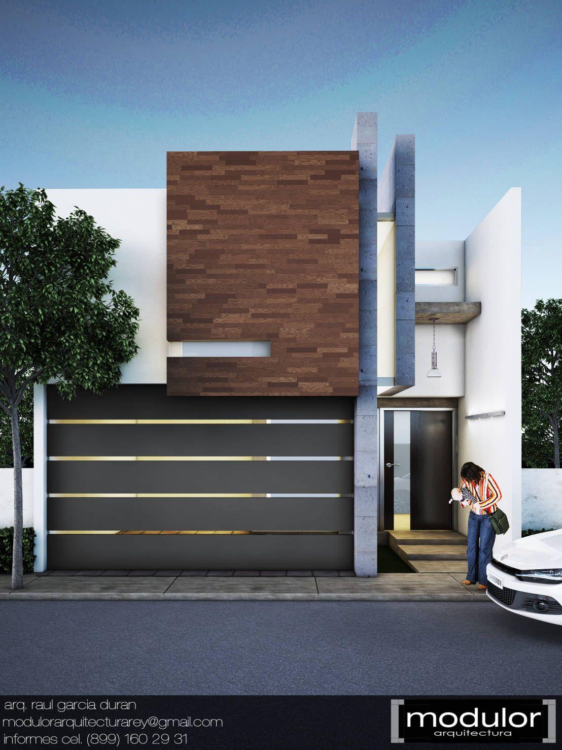 Fachada mrios de modulor arquitectura viaducto for Casa de arquitecto moderno
