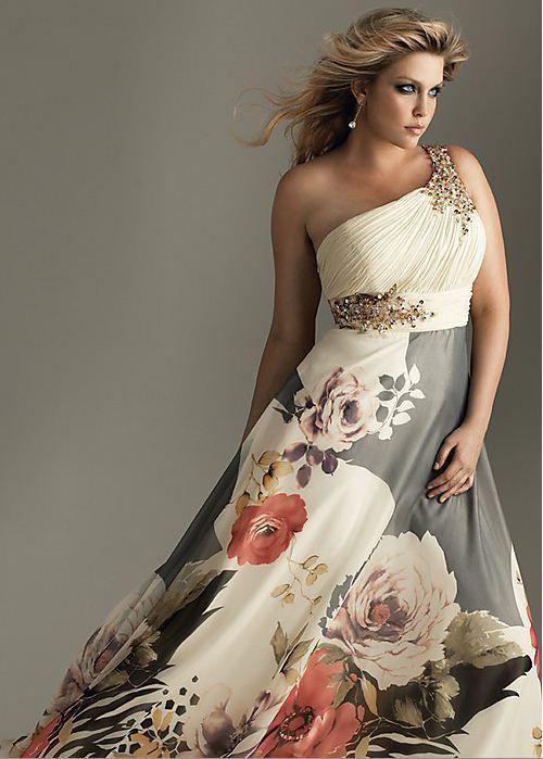 los mejores vestidos de fiesta para gorditas para ir de bodas