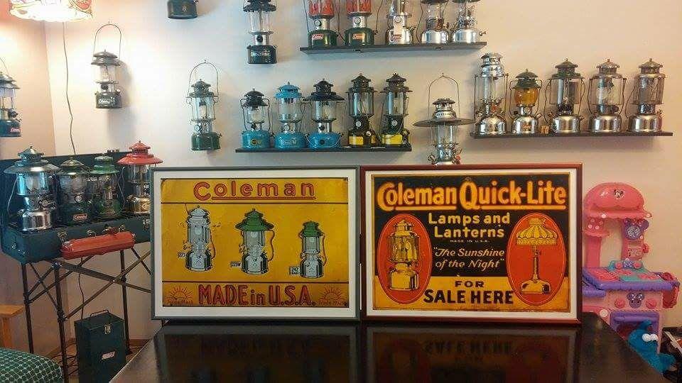 Coleman lantern dreaming
