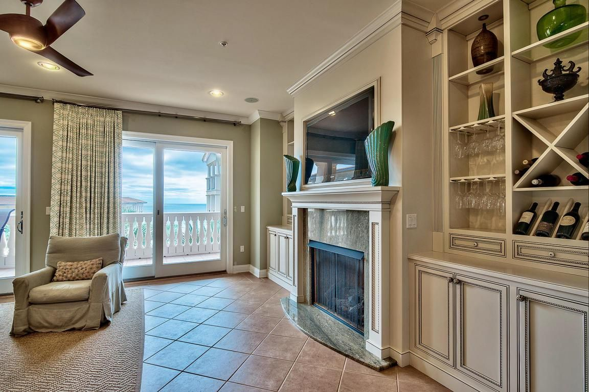 Gorgeous living room from 56 Blue Mountain Road, Santa Rosa Beach.  http://bit.ly/56BlueMR