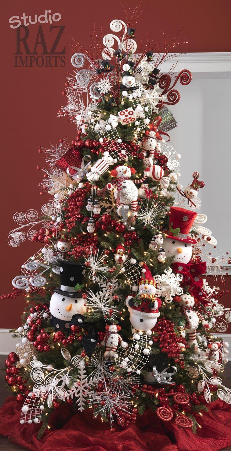 Arboles de navidad 2017 2018 diy christmas ornaments and decor navidad pinos de navidad - Ideas decoracion navidad ...