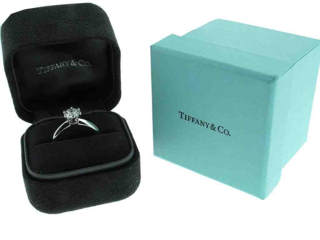 Tiffany Engagement Ring Box