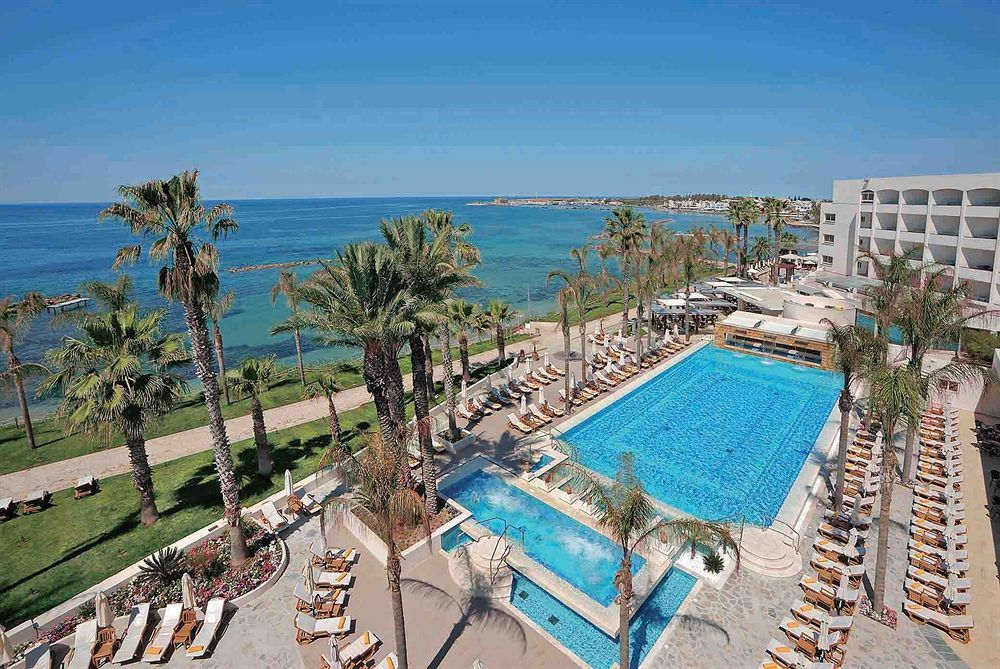 With a stay at Alexander The Great Beach Hotel in Paphos (Kato Paphos), you'll be convenient to Early Christian Basilica and Paphos Harbour. This 4-star hotel is within close proximity of St. Paul's Church and Agioi Anargyroi Church.   See Photos & Booking Options here http://www.lowestroomrates.com/avail/hotels/Cyprus/Paphos/Alexander-The-Great-Beach-Hotel.html?m=p #Paphos