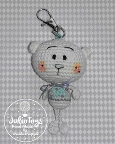 Little Teddy Bear Julio Toys Free Crochet Pattern Amigurumi