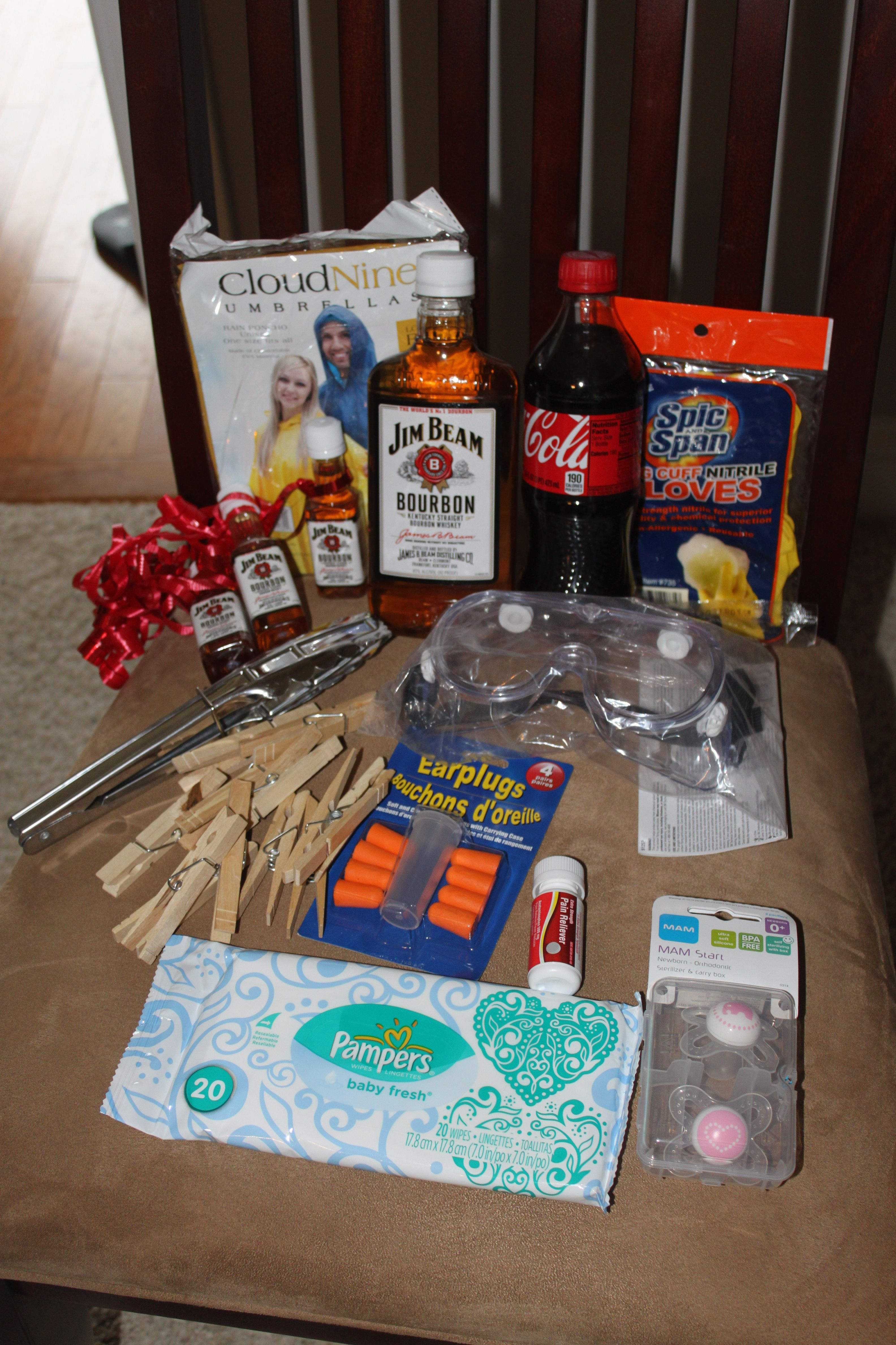 Perfect Daddy Present Diaper Changing Kit Includes