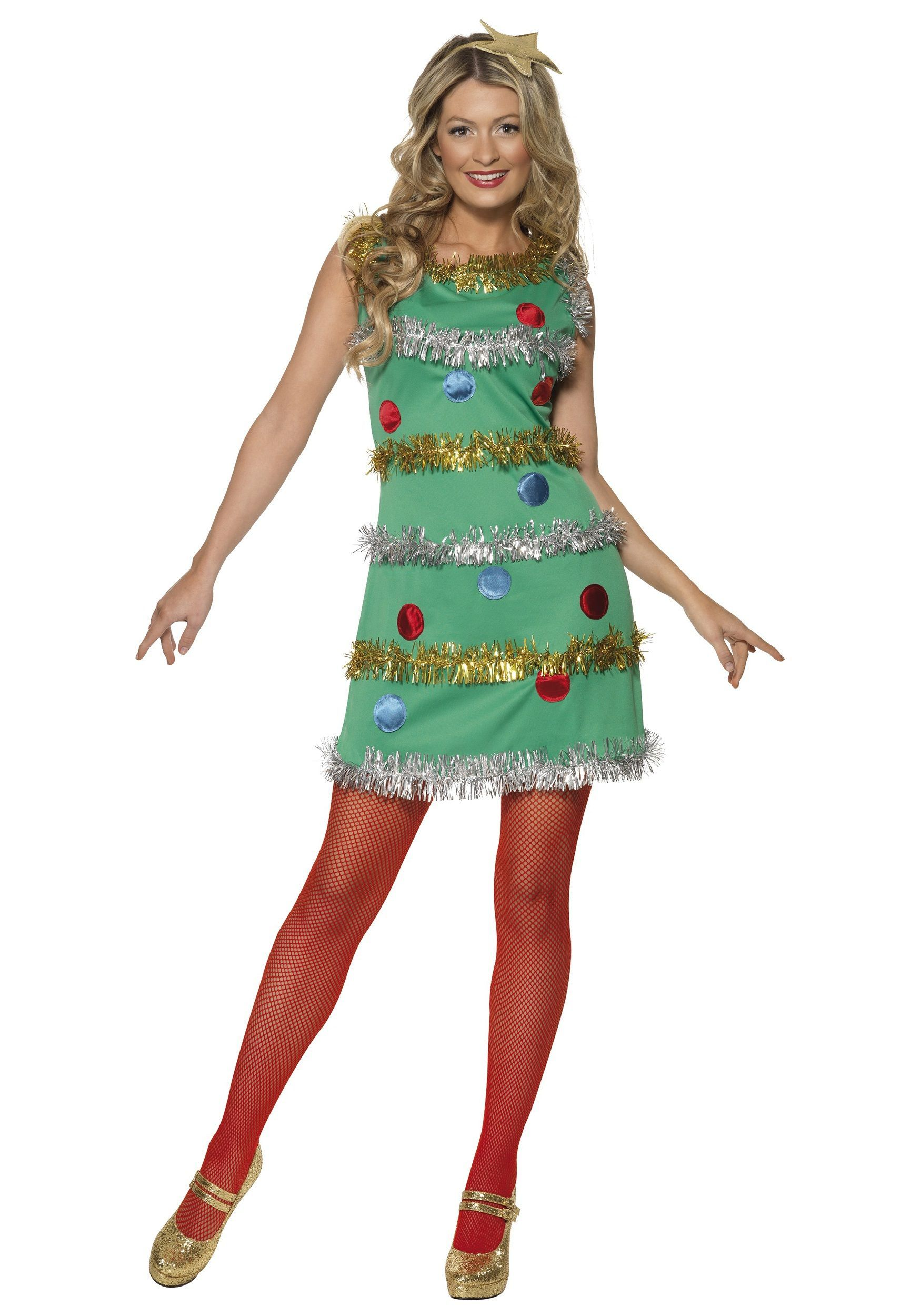 Christmas Tree Costumes With A Tutu As The Bottom Christmas Tree Costume Christmas Tree Dress Christmas Costumes