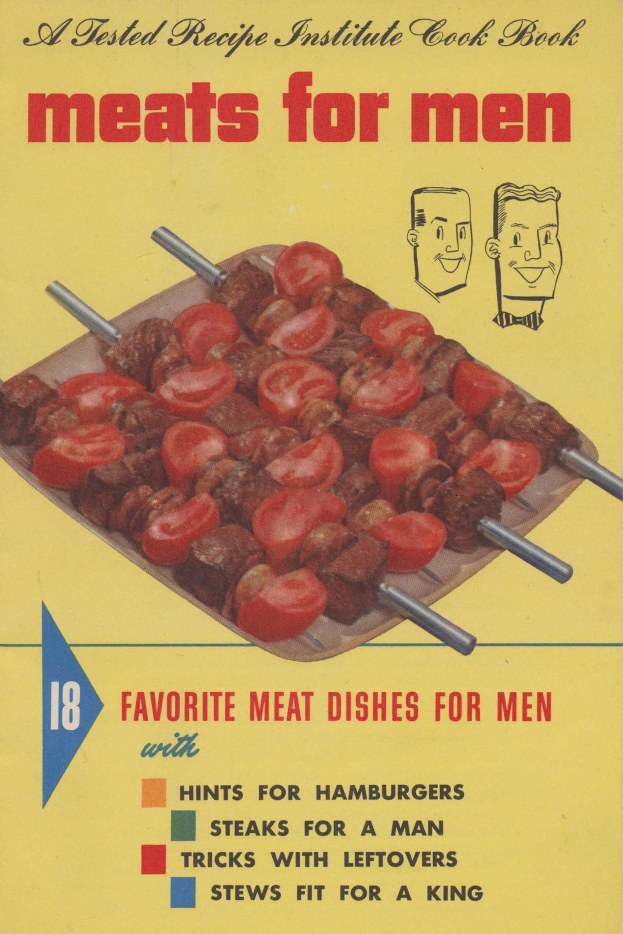 Meats for men1954 because men love their meat lol makes me laugh youll never worry again about your hubbys dinner once you buy the meats for men recipe book forumfinder Gallery