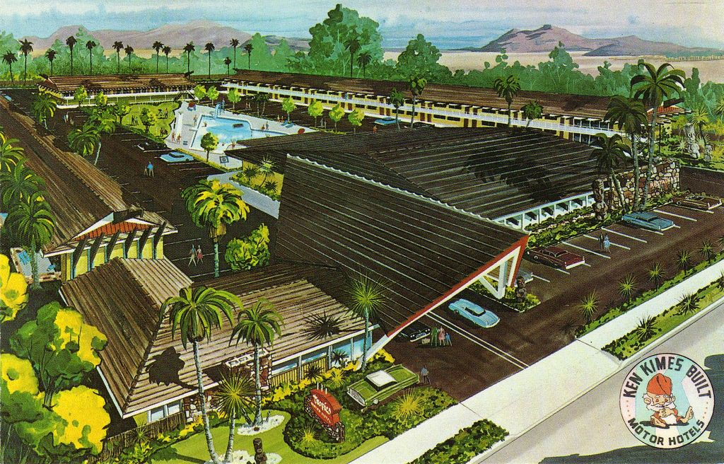One Of The Finest Remaining Examples Tiki And Polynesian Styled Palm Springs Hotels Built In