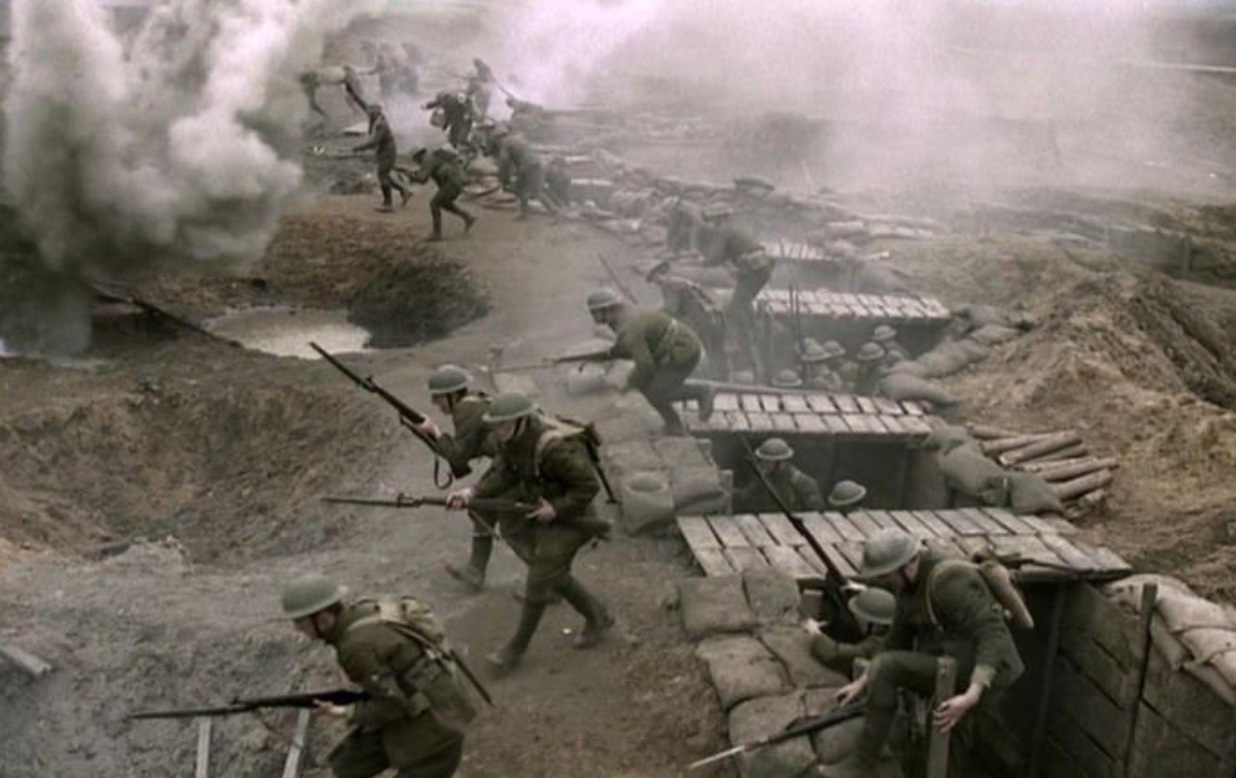 The Lost Battalion Advancing