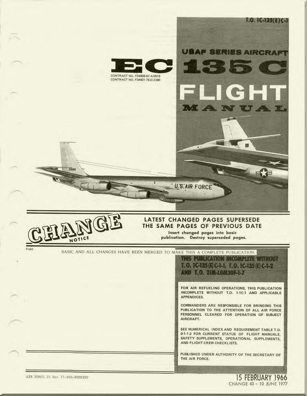 boeing ec 135c aircraft flight manual t o 1c 135 e c1 1966 rh pinterest co uk Boeing 717 Boeing 777