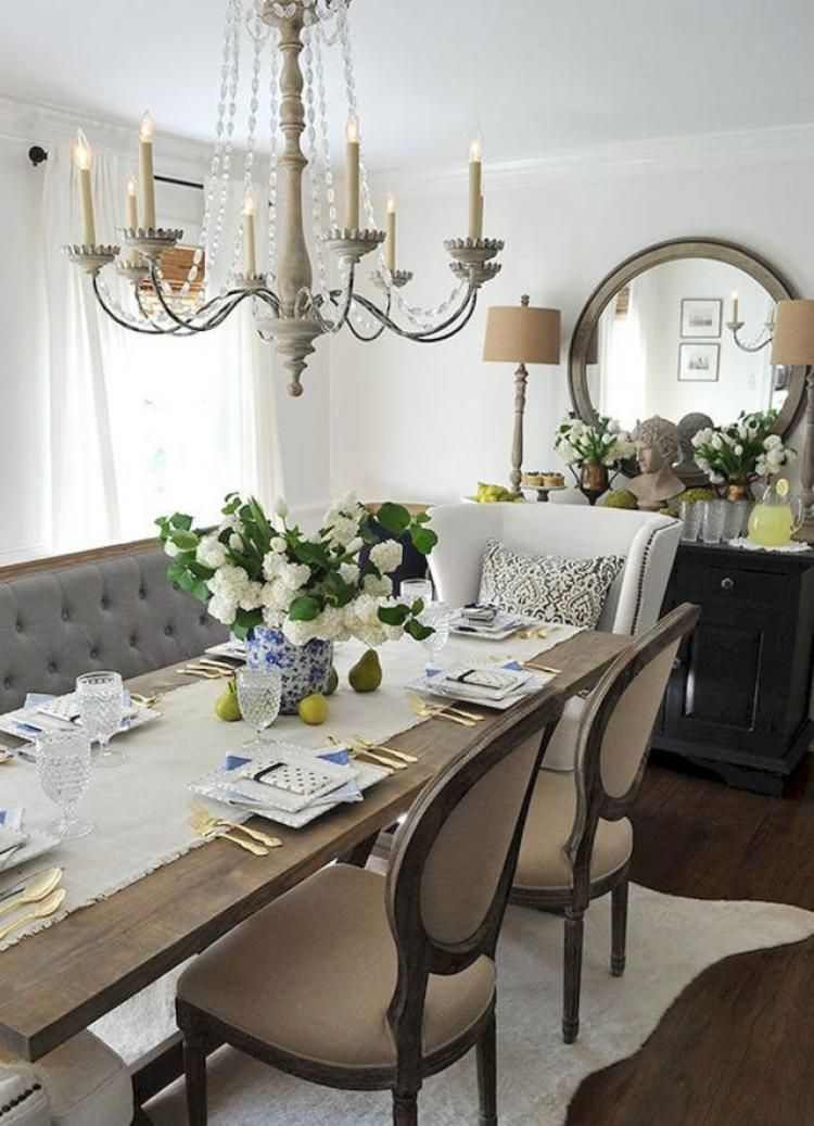 45 FRENCH COUNTRY DINING ROOM DECOR IDEAS