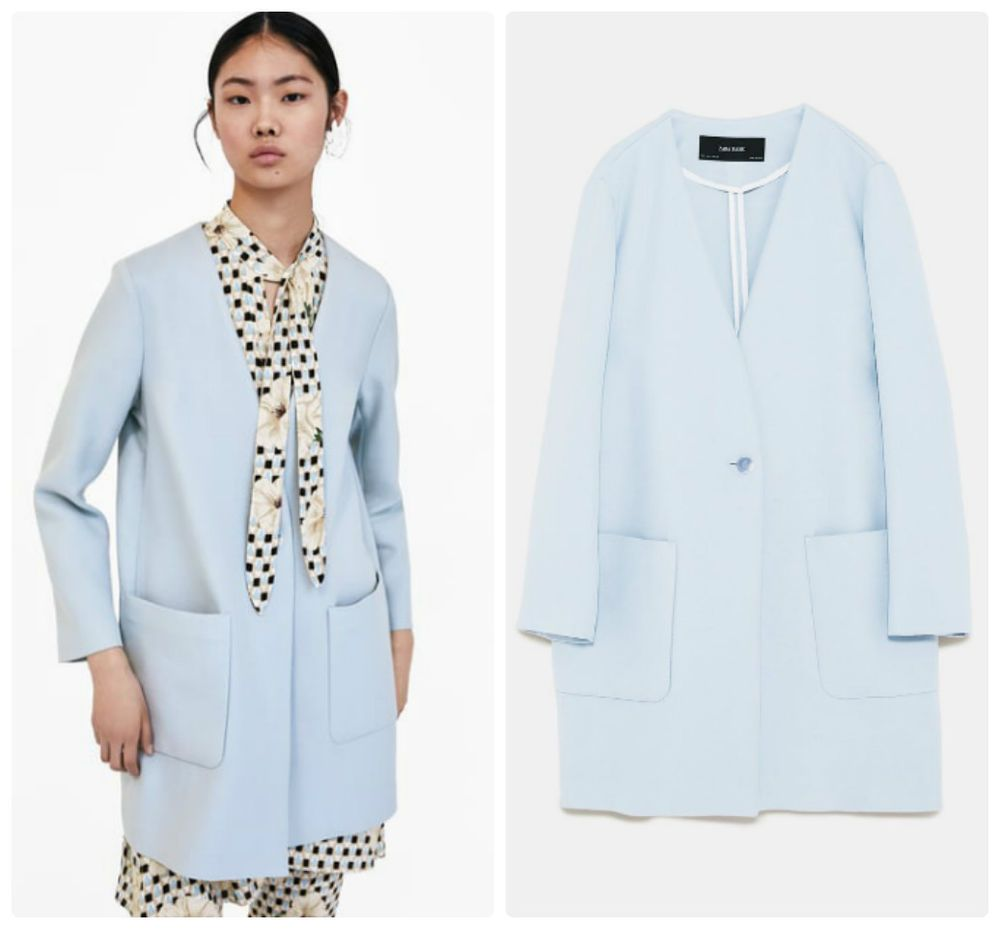 e84ec4158c4 NWT ZARA Double-Breasted Coat Jacket Blazer Size XS Ref.2581 889  ZARA   Blazer  Casual