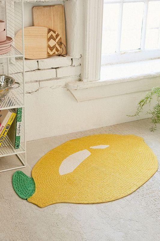 Cute Lemon Bath Mat