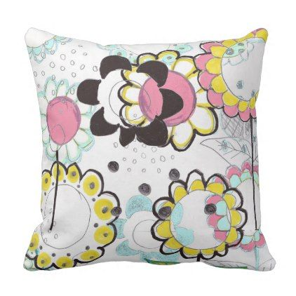 Sunflower Decorative & Throw Pillows | Zazzle