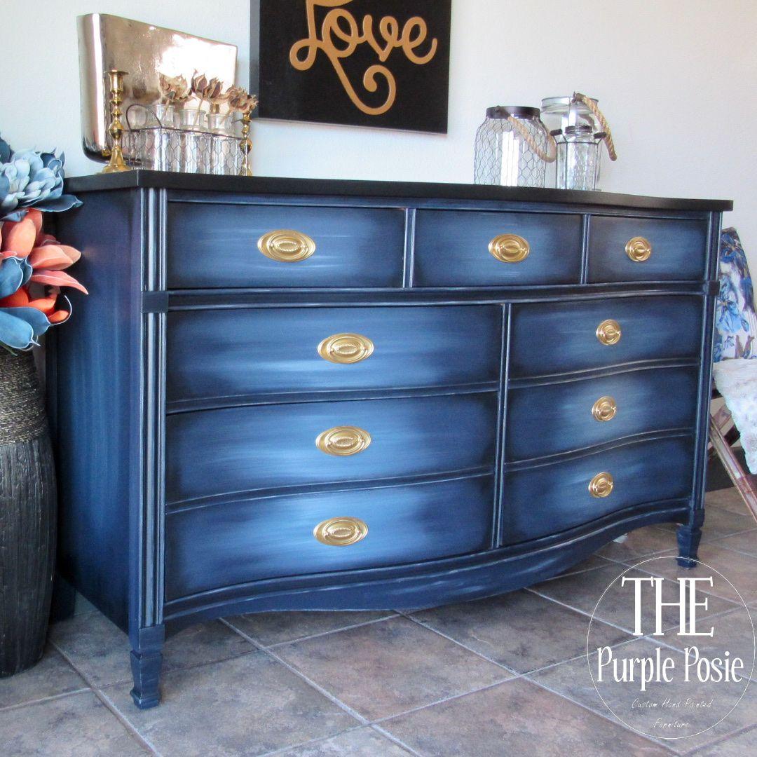 Blended Blue Dresser in 2020   Classy furniture, Bohemian ...