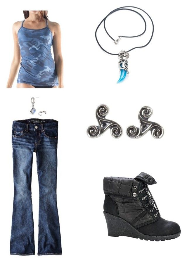"""""""A Novel Approach"""" by iteenwolfalpha ❤ liked on Polyvore featuring American Eagle Outfitters, W.I.T.H. - Wear It To Heart, NOVICA and Nature Breeze"""