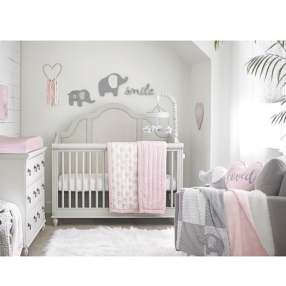 Wendy Bellissimo Mix & Match Wood Heart Ribbon Wall Art Pink Multi