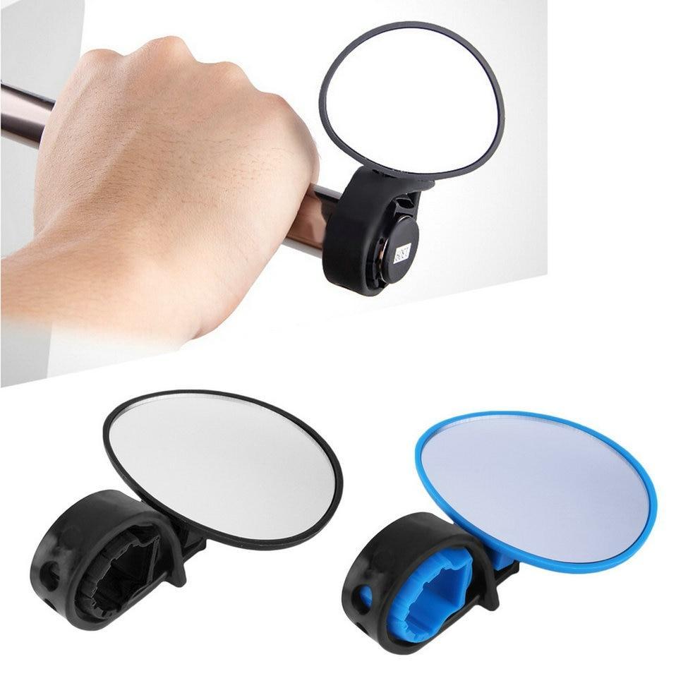 Flexible Cycling Bike Bicycle Handlebar Adjustable Looking Safe Rearview Mirror