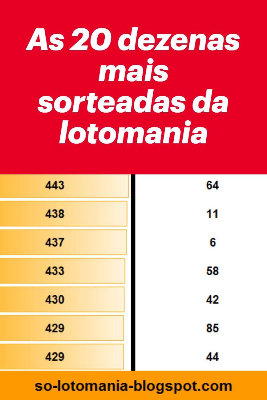 Pin De Fernando Em Jogos E Loterias Em 2020 Lotomania Lotomania