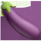 Eggplant On Apple Ios 11 3 Eggplant Emoji Eggplant Emoji