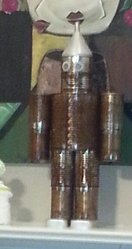 Our diy Tin Man